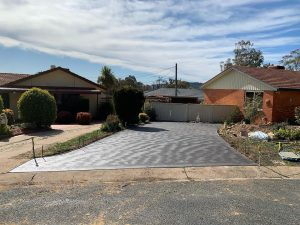 concrete slab Red Hill