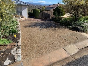 exposed aggregate Lyneham